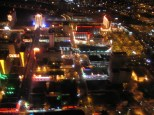 ....looking over Downtown Vegas....