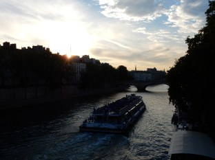 Back in Paris! The Seine calls us.