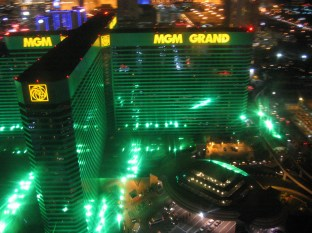 ....and back at the MGM Grand....