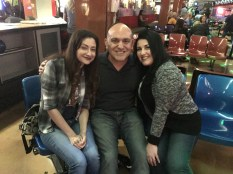 My bffs Sveta and Mila joined us