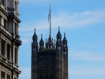 One of the Parliament towers