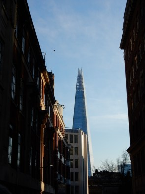 The Shard is also the tallest building in the UK