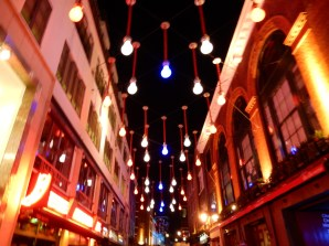 This was in the prime SoHo area for eating, near Carnaby Street