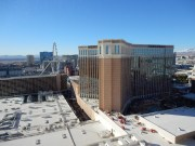 View from our room in the Palazzo