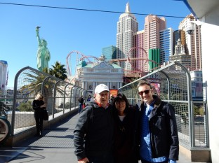 After a monorail ride to MGM, we walked to NYNY