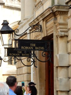 But everybody comes to see the Roman Baths