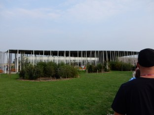 The new Visitor's Center and Depot at Stonehenge