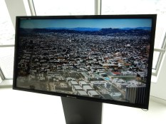 Interactive touch screen to help identify what's what