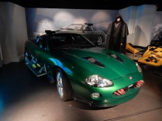 Evil Zao's Jaguar XKR from Die Another Day, with optional machine gun
