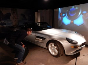 The BMW Z8 from The World Is Not Enough - this one wasn't sliced in two