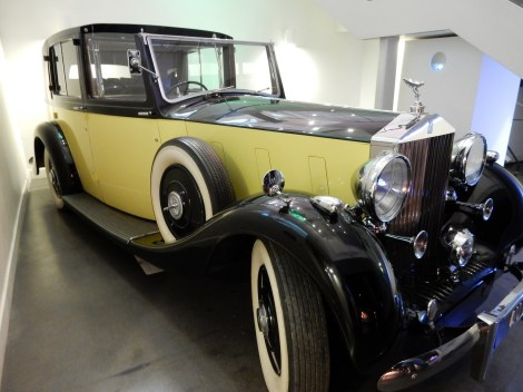 The Rolls Royce Phantom III from Goldfinger - what a car