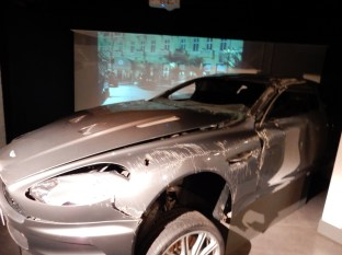 The really jacked up Aston Martin DBS from Casino Royale