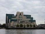 Our destination was across the Thames from the MI6 building