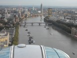 You can see in the distance on the Thames where the MI6 area is where we just were