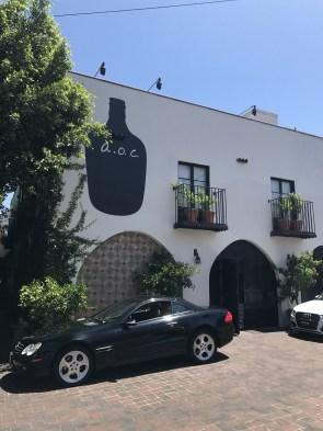 The hot restaurant A.O.C.