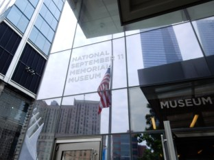Entrance to the 9/11 Memorial Museum
