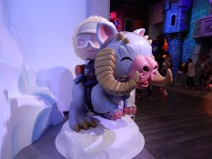 The most adorable tauntaun and Han