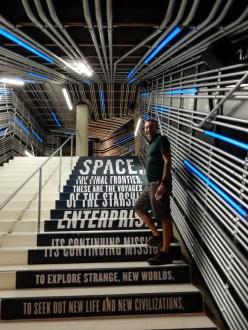 An impressive entry for an impressive Star Trek exhibit
