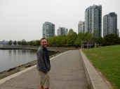 Walking along False Creek