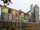 The Giants Murals are also still a concrete plant
