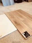Here's the wood flooring we chose
