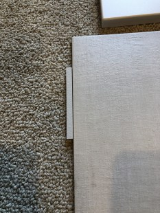 The grout color we're getting