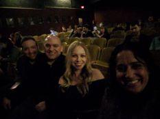 Larry, me, Nicki and Rekha at the Largo