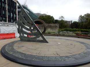 The large sundial here was our meeting point for our private tour