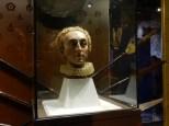 A mask of Queen Elizabeth I
