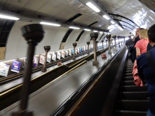 We took the Tube to the St John's Wood station near Abbey Road Studios