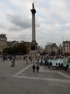 Back at the Trafalgar Square