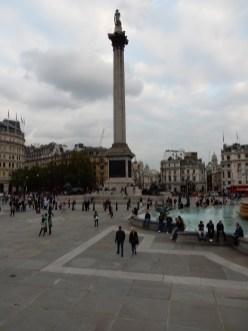 Back at the Trafalgar Square