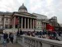 Outside the National Gallery again