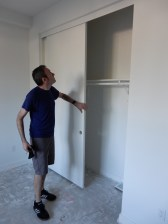 We also have closet doors