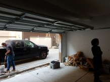 We also have a garage door!
