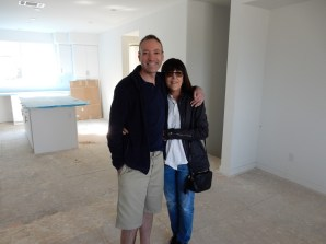 Larry and Fran in our future great room