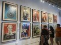 A Shepard Fairey exhibit was also there