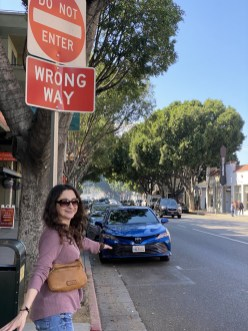 Wrong Way in Old Town Pasadena