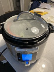 Steaming veggies in the instant pot