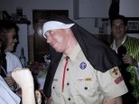 Chris the boy scout nun