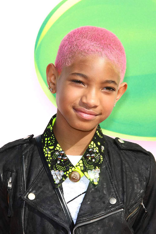 willow smith cheveux rose