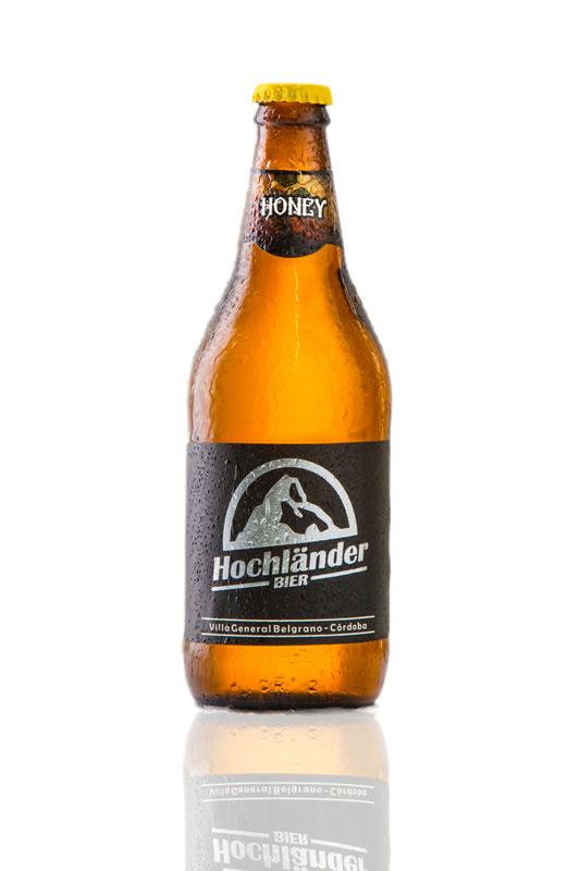 Botella Cerveza Hochländer Honey