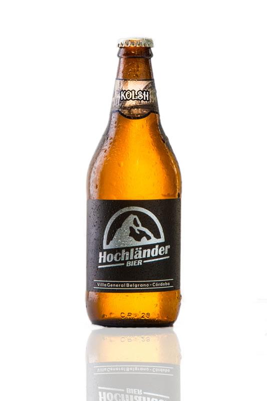 Botella Cerveza Hochländer Kolsh