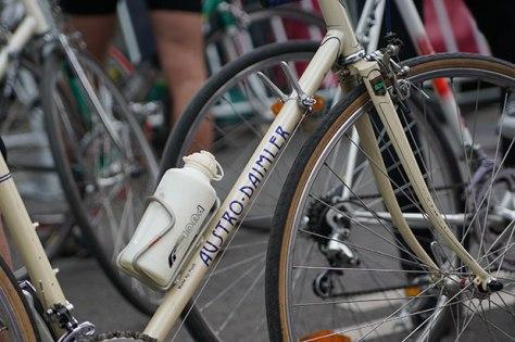 Klassisches Fahrrad Austro-Daimler