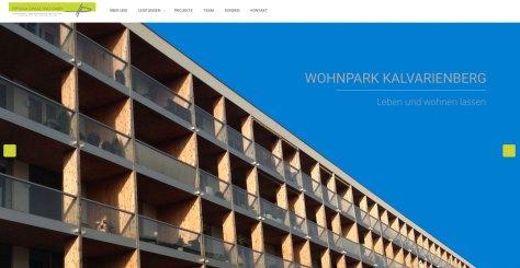 Die Frontpage von HP-Bauconsulting