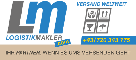Adressaufkleber und Aufkleber Logistikmakler.com