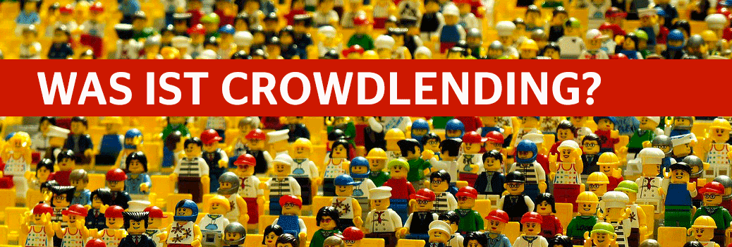 Crowd aus Legofiguren