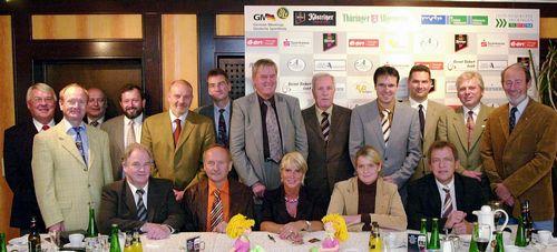 20051011 Arnstadt: Pressekonferenz 30. Hochsprung mit Musik im Hotel Anders mit Sponsorenvertarg 11.10.2005 (TA-Foto: H.P. Stadermann / Digital)