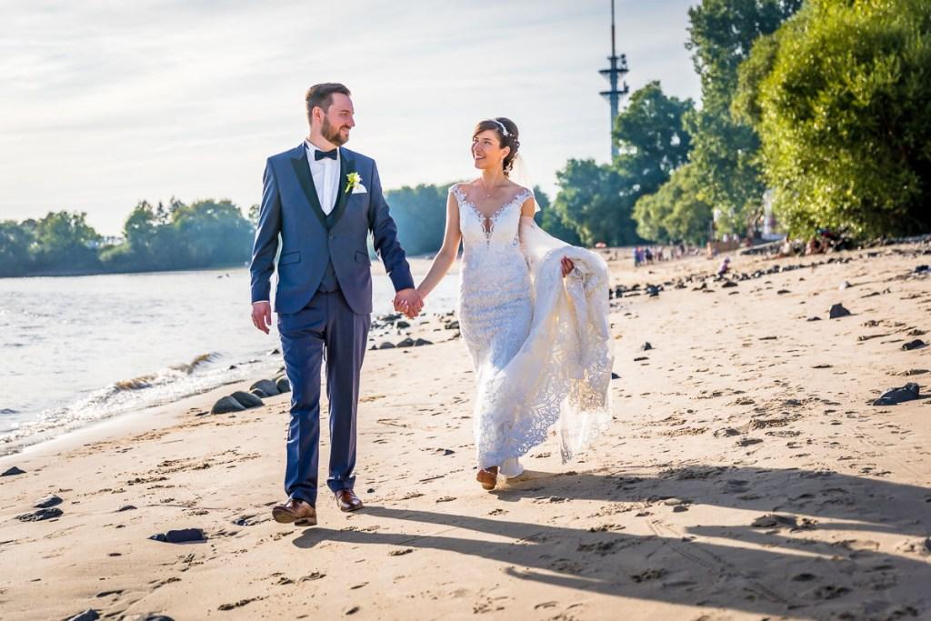 Hochzeitsfotograf Hamburg Elbstrand