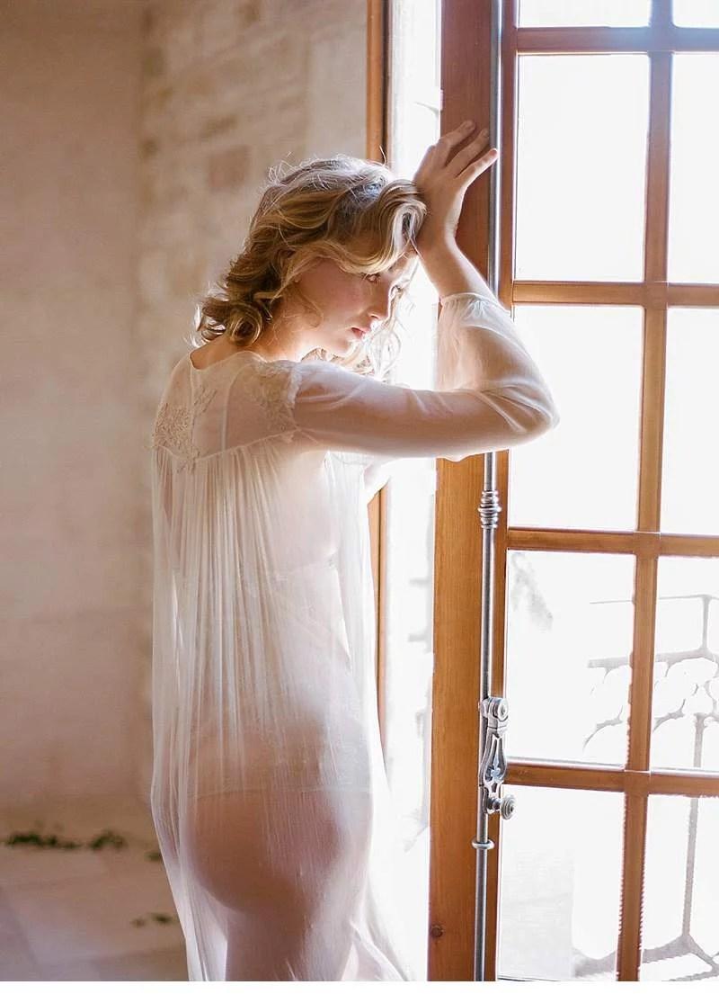 Emotive Bridal Boudoir Shoot